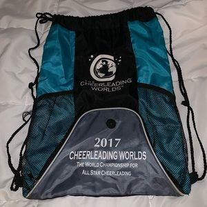 Cheerleading worlds 2017 drawstring bag